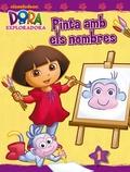 Dora l'exploradora PINTA AMB ELS NOMBRES